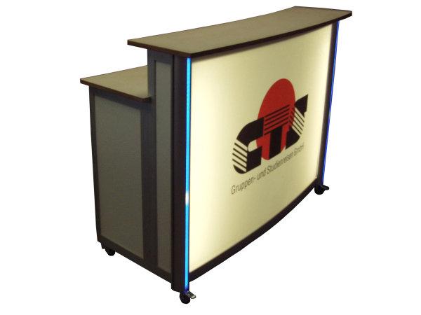 minitheken lochblech buche empfangstheken empfangstheke minipromotiontheke theke theken. Black Bedroom Furniture Sets. Home Design Ideas